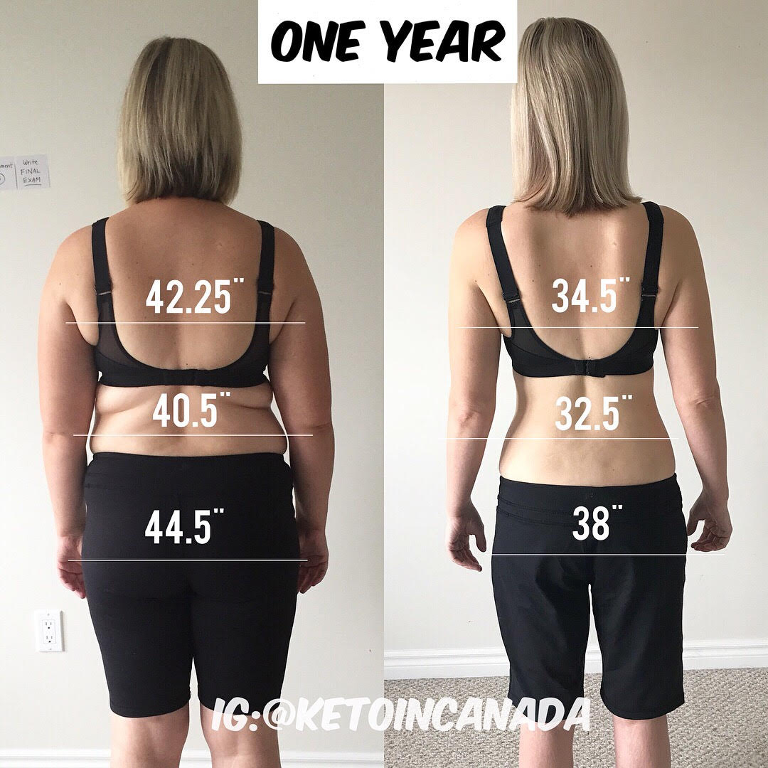 6 Months Keto Before and After - Check out her Keto Quick Start Guide!